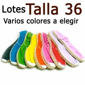 Alpargatas Elige Talla/Color_Talla 36