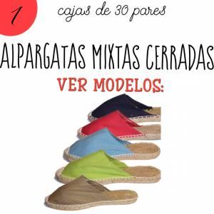 Alpargatas por CAJAS_Mixtas (Mujer y Hombre)